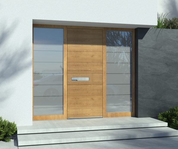 Holz-Haustüre